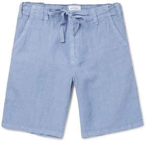 Hartford Slub Linen Drawstring Shorts