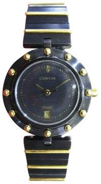 Corum Clipper Club Stainless Steel & 18K Yellow Gold 30mm Womens Watch