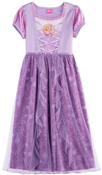 Disney Disney's Rapunzel Girls 4-8 Tulle Skirt Dress-Up Nightgown