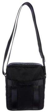 Salvatore Ferragamo Leather-Trimmed Crossbody Bag