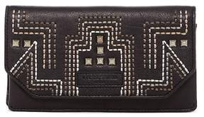 Liebeskind Berlin Studded Foldover Leather Wallet