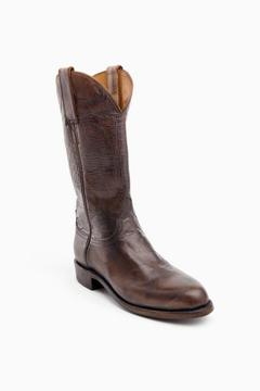Lucchese Pearl Bone Cowboy Boots
