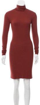 Enza Costa Turtleneck Long Sleeve Dress