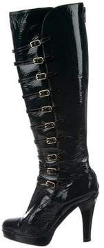 Marc Jacobs Patent Leather Knee-High Boots