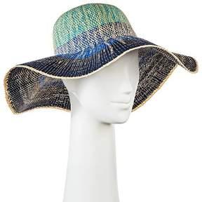 Merona Women's Floppy Hat Blue Ombre
