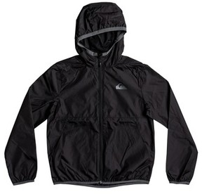 Quiksilver Boy's Contrasted Water Resistant Hooded Windbreaker