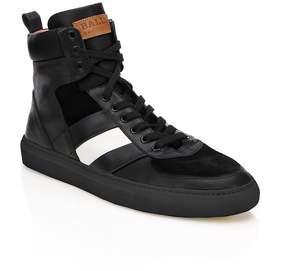 Bally Men's Hewie High-Top Sneakers