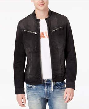 G Star Men's Arc Dc 3D Slim-Fit Stretch Full-Zip Denim Jacket
