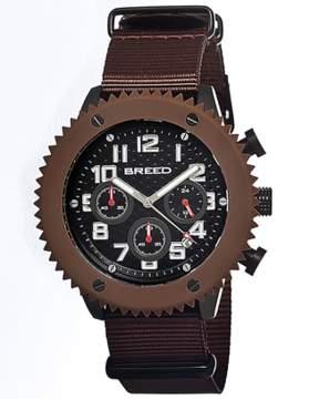 Breed Decker Chronograph Nylon-band Watch.