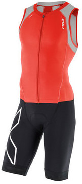 2XU Men's Compression Zip Trisuit