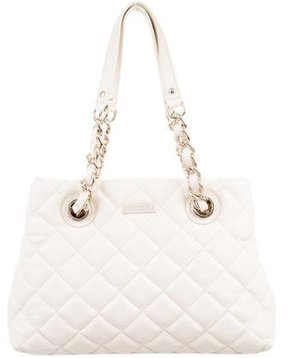Kate Spade Quilted Shoulder Bag - NEUTRALS - STYLE