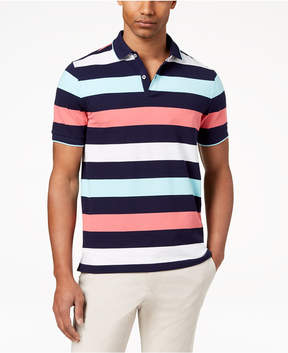Club Room Men's Multi-Stripe Polo, Created for Macy's
