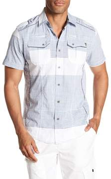 ProjekRaw Projek Raw Short Sleeve Woven Shirt