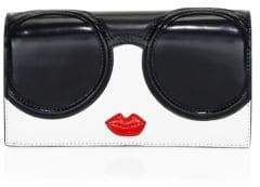 Alice + Olivia Lisa Stacey Face Leather Wallet