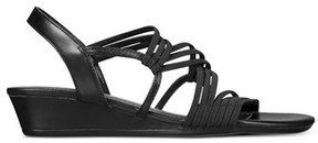 Impo Womens Rocio Open Toe Casual Wedged Sandals.