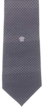 Gianni Versace Patterned Silk Tie