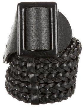 Ralph Lauren Leather Woven Belt