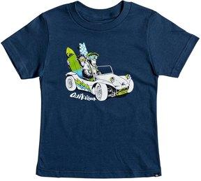 Quiksilver Boys' Full & Full Short Sleeve Tee (Little Kid) 8167240