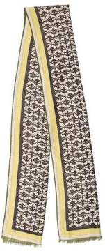 Emilio Pucci Wool-Blend Rectangle Scarf