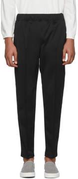 Junya Watanabe Black Smooth Lounge Pants