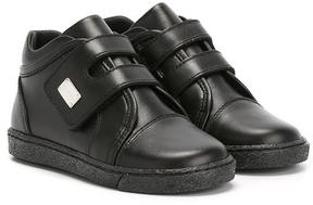Dolce & Gabbana Kids hi-top touch strap sneakers