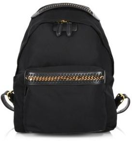 Stella McCartney Medium Nylon Falabella Backpack