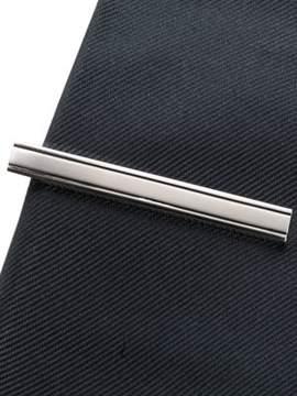 Black & Brown Black Brown Silver Tie Bar