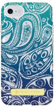 Trina Turk Translucent Apple Phone Case - Blue Ombre - iPhone 6/6S/7/8