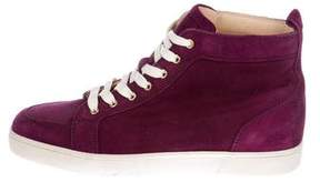 Christian Louboutin Suede Rantus Orlato Sneakers