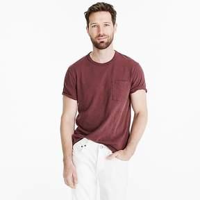 J.Crew Tall garment-dyed slub cotton crewneck T-shirt