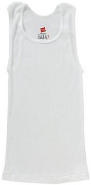 Hanes Boys Sleeveless A Shirt, 3 Pack