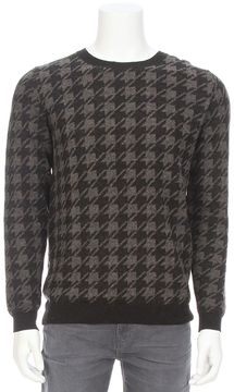 Closed Houndstooth Sweater