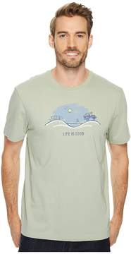 Life is Good Off Road Beach Vista Crusher Tee Men's Short Sleeve Pullover