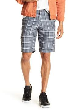 Burnside Plaid Woven Shorts
