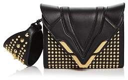 Elena Ghisellini Angel Small Punky Convertible Leather Wristlet