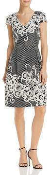 Adrianna Papell Knit Patterned Dress