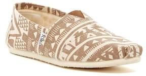 Toms Classic Geo Print Slip-On Shoe