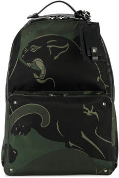 Valentino Rockstud panther backpack