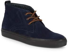 Canali Men's Suede Hi-Top Sneakers