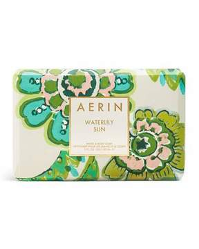 AERIN Limited Edition Waterlily Sun Soap Bar