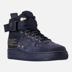 Nike Boys' Grade School SF Air Force 1 Mid Casual Shoes