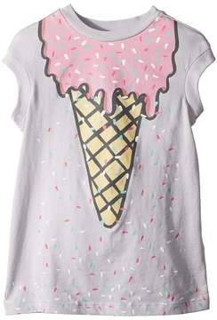 Stella McCartney Jony Ice Cream Print Dress w/ Scattered Sprinkles Girl's Dress