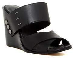 Kelsi Dagger Womens Morten Open Toe Casual Platform Sandals.