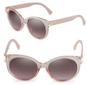 Sam Edelman 52mm Round Vintage Sunglasses