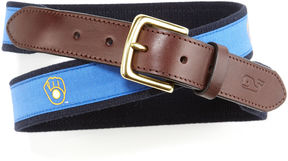 Vineyard Vines Milwaukee Brewers Canvas Club Belt