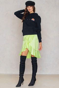 NA-KD Na Kd Neon Frill Skirt