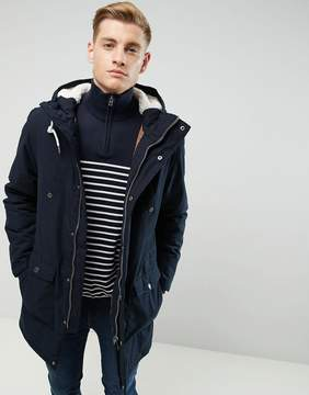 Esprit Fish Tail Parka With Teddy Lined Hood