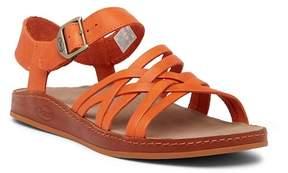 Chaco Fallon Strappy Leather Sandal