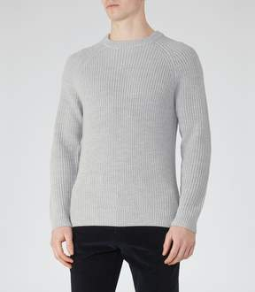 Reiss Cookly Ribbed Crew-Neck Jumper