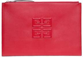 Givenchy Emblem Leather Pouch